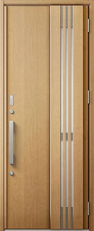 玄関ドアDA V84型 K4仕様 片開きドア 採風デザイン 特注サイズ W:760~973mm × H:1,813~2,330mm LIXIL リクシル TOSTEM トステム