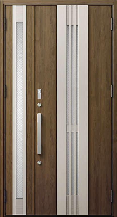 玄関ドアDA防火戸 V85型 K4仕様 親子ドア FamiLockプラン仕様 採風デザイン W:1,240mm×H:2,330mm LIXIL リクシル TOSTEM トステム