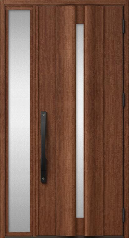 ジエスタ GIESTA G12型 K2仕様 片袖 W:1,240mm×H:2,330mm 断熱 玄関 ドア リクシル LIXIL DIY リフォーム