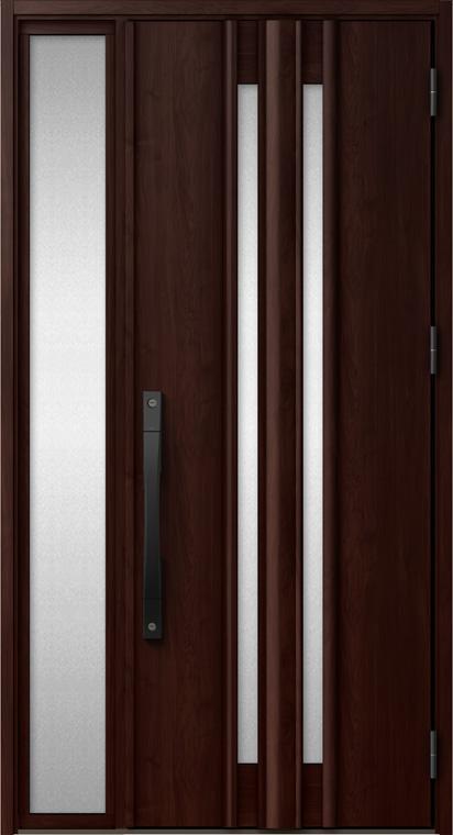 ジエスタ GIESTA G15型 K4仕様 片袖 特注サイズ W:868~1,332mm × H:1,713~2,413mm 袖ガラス用後付けビート付 断熱 玄関 ドア リクシル LIXIL DIY リフォーム