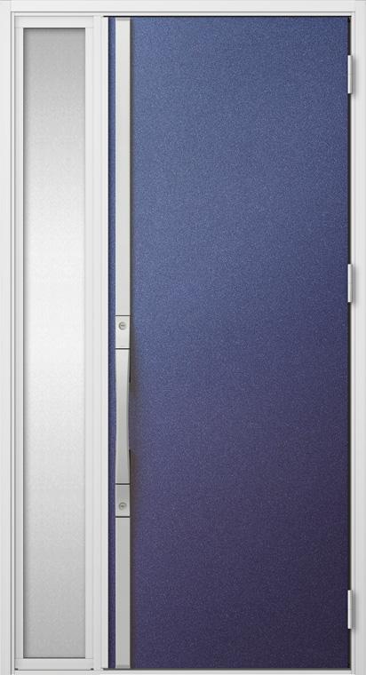 ジエスタ GIESTA S13型 K4仕様 片袖 W:1,240mm×H:2,330mm 断熱 玄関 ドア リクシル LIXIL DIY リフォーム