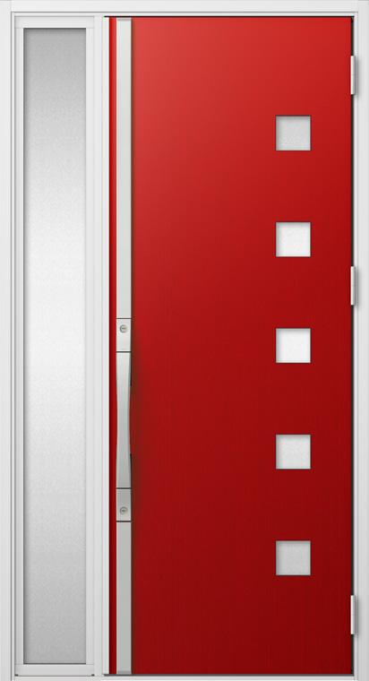 ジエスタ GIESTA S17型 K2仕様 片袖 W:1,240mm×H:2,330mm 断熱 玄関 ドア リクシル LIXIL DIY リフォーム
