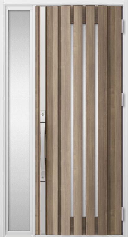 ジエスタ GIESTA S19型 K2仕様 片袖 W:1,240mm×H:2,330mm 断熱 玄関 ドア リクシル LIXIL DIY リフォーム
