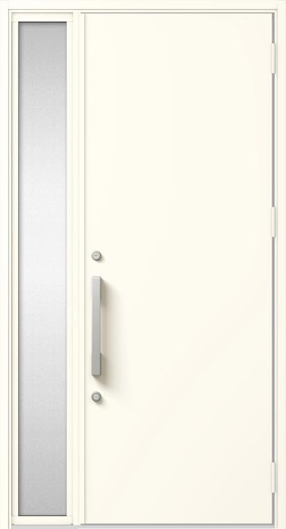 ジエスタ GIESTA M17型 K4仕様 片袖 W:1,240mm×H:2,330mm 断熱 玄関 ドア リクシル LIXIL DIY リフォーム