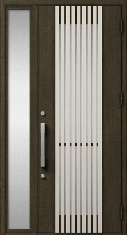 ジエスタ GIESTA M20型 K2仕様 片袖 W:1,240mm×H:2,330mm 断熱 玄関 ドア リクシル LIXIL DIY リフォーム