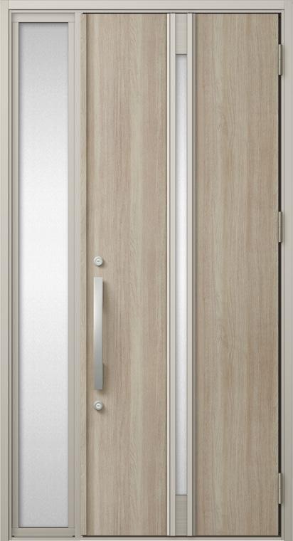 ジエスタ GIESTA M22型 K2仕様 片袖 W:1,240mm×H:2,330mm 断熱 玄関 ドア リクシル LIXIL DIY リフォーム