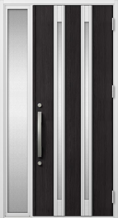 ジエスタ GIESTA M24型 K2仕様 片袖 W:1,240mm×H:2,330mm 断熱 玄関 ドア リクシル LIXIL DIY リフォーム