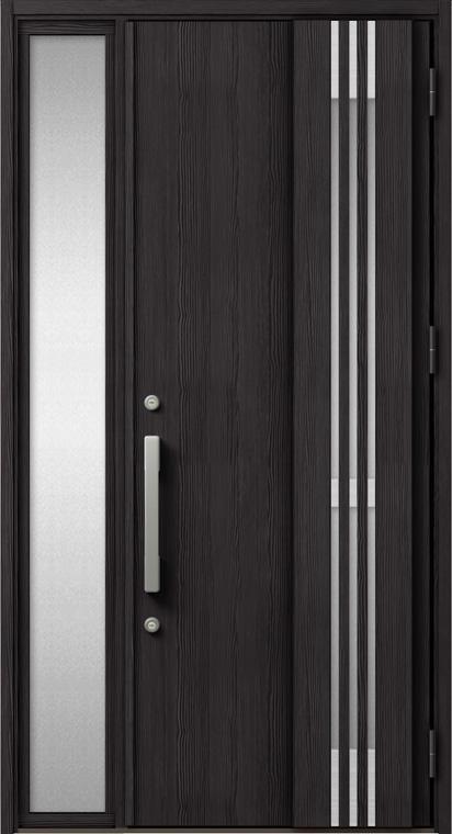 ジエスタ GIESTA M83型 K2仕様 片袖 採風デザイン W:1,240mm×H:2,330mm 断熱 玄関 ドア リクシル LIXIL DIY リフォーム