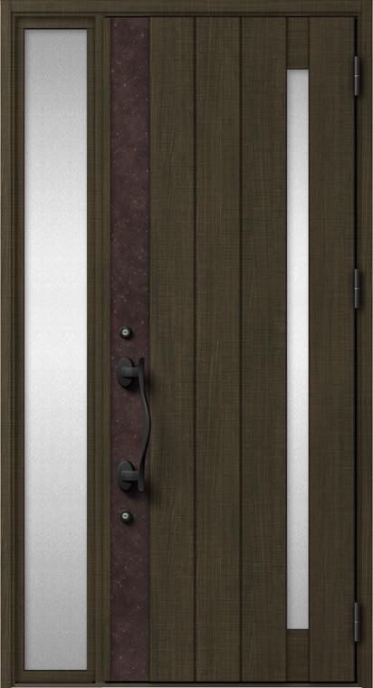 ジエスタ GIESTA P13型 K2仕様 片袖 W:1,240mm×H:2,330mm 断熱 玄関 ドア リクシル LIXIL DIY リフォーム