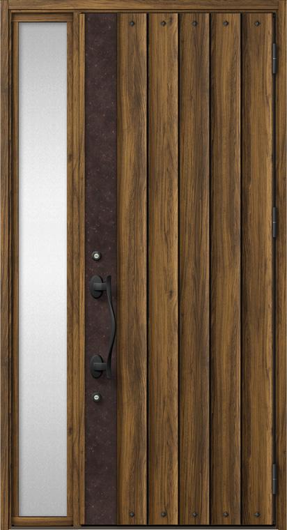 ジエスタ GIESTA D12型 K4仕様 片袖 W:1,240mm×H:2,330mm 断熱 玄関 ドア リクシル LIXIL DIY リフォーム