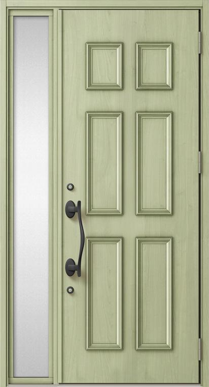 ジエスタ GIESTA C11型 K4仕様 片袖 W:1,240mm×H:2,330mm 断熱 玄関 ドア リクシル LIXIL DIY リフォーム