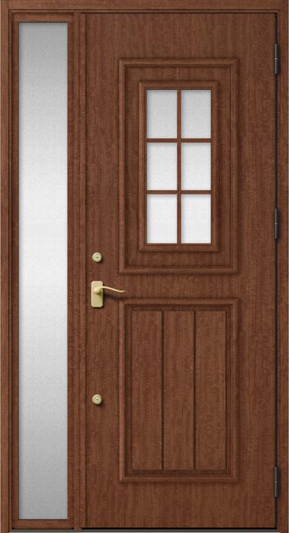 ジエスタ GIESTA C92型 K2仕様 片袖 W:1,240mm×H:2,330mm 断熱 玄関 ドア リクシル LIXIL DIY リフォーム