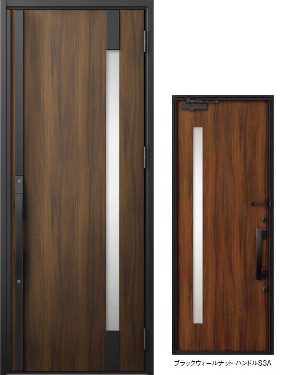 ジエスタ GIESTA S16型 K2仕様 片開きドア W:924mm×H:2,330mm 断熱 玄関 ドア リクシル LIXIL DIY リフォーム ※20年3月末販売終了