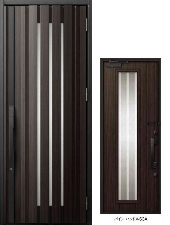 ジエスタ GIESTA S20型 K2仕様 片開きドア W:924mm×H:2,330mm 断熱 玄関 ドア リクシル LIXIL DIY リフォーム