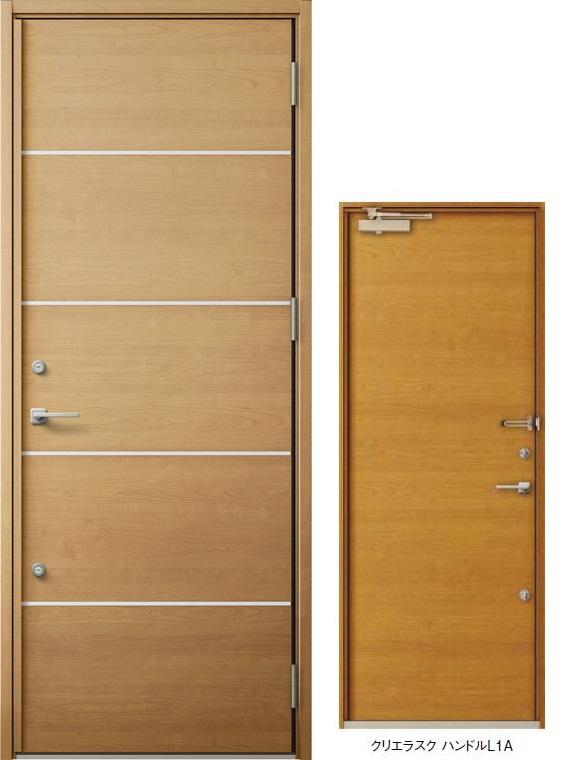 ジエスタ GIESTA M92型 K4仕様 片開きドア W:924mm×H:2,330mm 断熱 玄関 ドア リクシル LIXIL DIY リフォーム