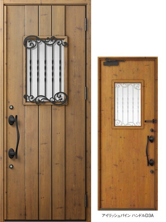 ジエスタ GIESTA D42型 K4仕様 片開きドア W:924mm×H:2,330mm 断熱 玄関 ドア リクシル LIXIL DIY リフォーム