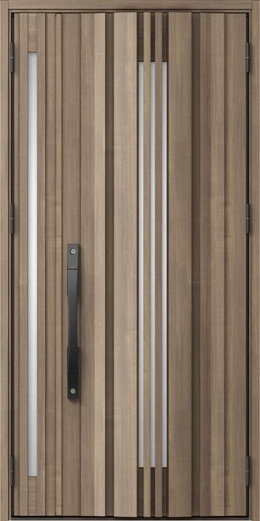 ジエスタ GIESTA G81型 K2仕様 親子ドア 入隅タイプ 採風デザイン W:1,138mm×H:2,330mm 断熱 玄関 ドア リクシル LIXIL DIY リフォーム