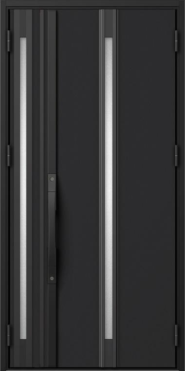 ジエスタ GIESTA S12型 K2仕様 親子ドア 入隅タイプ W:1,138mm×H:2,330mm 断熱 玄関 ドア リクシル LIXIL DIY リフォーム