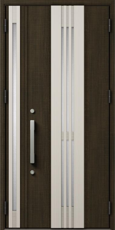 ジエスタ GIESTA M84型 K2仕様 親子ドア 入隅タイプ 採風デザイン W:1,138mm×H:2,330mm 断熱 玄関 ドア リクシル LIXIL DIY リフォーム