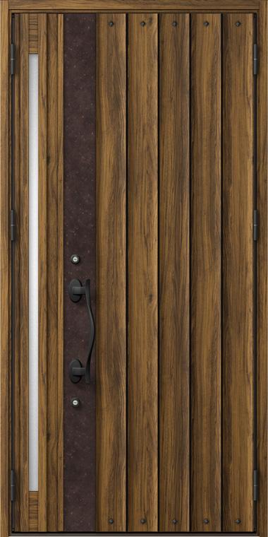 ジエスタ GIESTA D12型 K2仕様 親子ドア 入隅タイプ W:1,138mm×H:2,330mm 断熱 玄関 ドア リクシル LIXIL DIY リフォーム