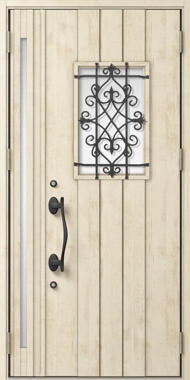 ジエスタ GIESTA D41型 K4仕様 親子ドア 入隅タイプ W:1,138mm×H:2,330mm 断熱 玄関 ドア リクシル LIXIL DIY リフォーム
