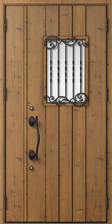 ジエスタ GIESTA D62型 K4仕様 親子ドア 入隅タイプ 内外同テイスト W:1,138mm×H:2,330mm 断熱 玄関 ドア リクシル LIXIL DIY リフォーム