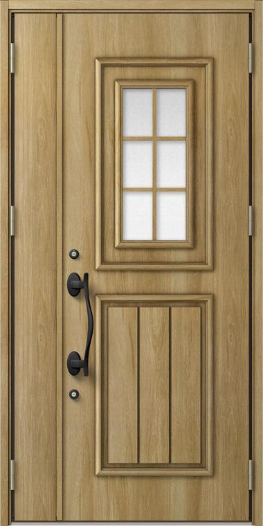 ジエスタ GIESTA C72型 K4仕様 親子ドア 入隅タイプ 内外同テイスト W:1,138mm×H:2,330mm 断熱 玄関 ドア リクシル LIXIL DIY リフォーム