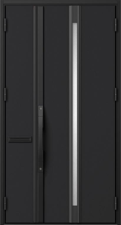 ジエスタ GIESTA S12型 K2仕様 親子ドア W:1,240mm×H:2,330mm 断熱 玄関 ドア リクシル LIXIL DIY リフォーム
