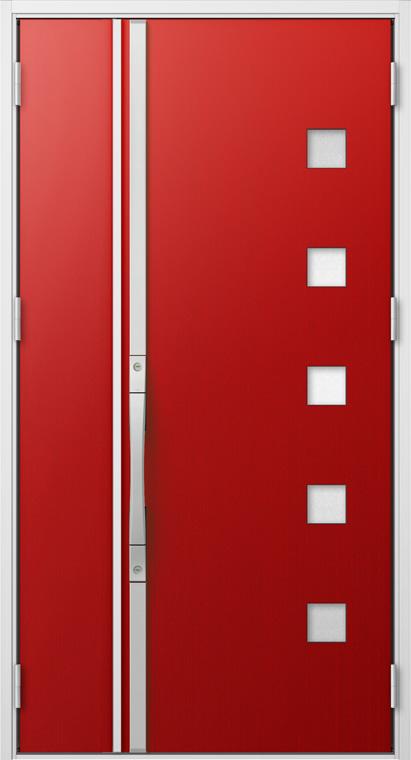 ジエスタ GIESTA S17型 K4仕様 親子ドア W:1,240mm×H:2,330mm 断熱 玄関 ドア リクシル LIXIL DIY リフォーム