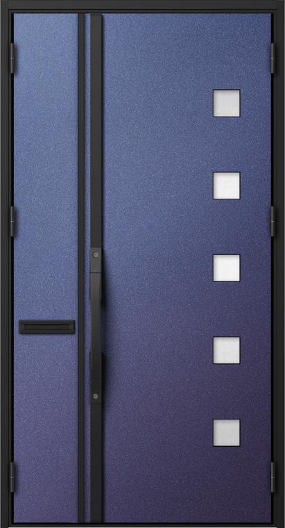ジエスタ GIESTA S18型 K2仕様 親子ドア W:1,240mm×H:2,330mm 断熱 玄関 ドア リクシル LIXIL DIY リフォーム