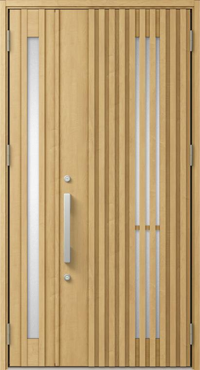 ジエスタ GIESTA M19型 K2仕様 親子ドア W:1,240mm×H:2,330mm 断熱 玄関 ドア リクシル LIXIL DIY リフォーム
