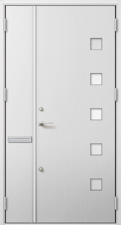 ジエスタ GIESTA M91型 K4仕様 親子ドア W:1,240mm×H:2,330mm 断熱 玄関 ドア リクシル LIXIL DIY リフォーム