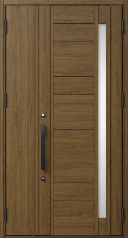 ジエスタ GIESTA P11型 K4仕様 親子ドア W:1,240mm×H:2,330mm 断熱 玄関 ドア リクシル LIXIL DIY リフォーム