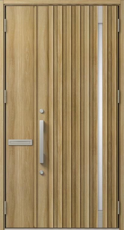 ジエスタ GIESTA P12型 K4仕様 親子ドア W:1,240mm×H:2,330mm 断熱 玄関 ドア リクシル LIXIL DIY リフォーム