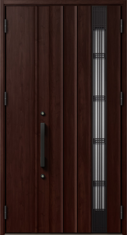 ジエスタ GIESTA P82型 K2仕様 親子ドア 採風デザイン W:1,240mm×H:2,330mm 断熱 玄関 ドア リクシル LIXIL DIY リフォーム