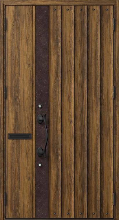 ジエスタ GIESTA D12型 K4仕様 親子ドア W:1,240mm×H:2,330mm 断熱 玄関 ドア リクシル LIXIL DIY リフォーム