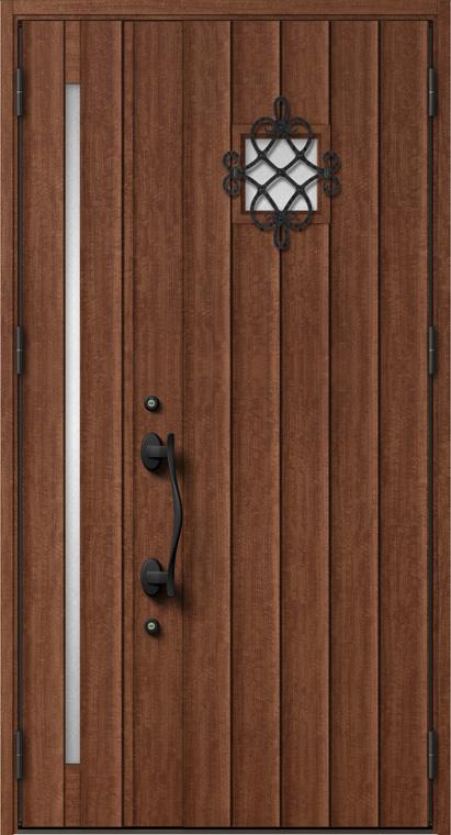 ジエスタ GIESTA D32型 K2仕様 親子ドア W:1,240mm×H:2,330mm 断熱 玄関 ドア リクシル LIXIL DIY リフォーム