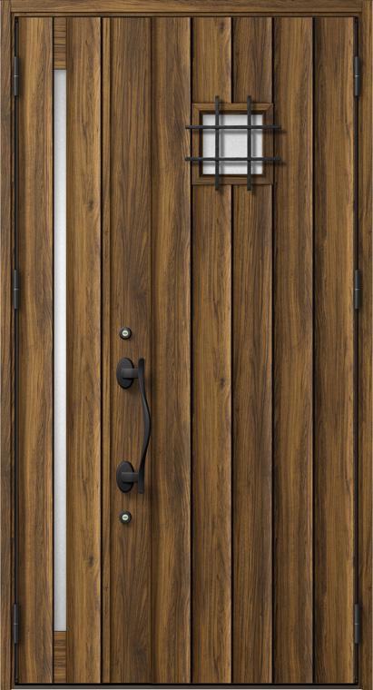 ジエスタ GIESTA D34型 K4仕様 親子ドア W:1,240mm×H:2,330mm 断熱 玄関 ドア リクシル LIXIL DIY リフォーム