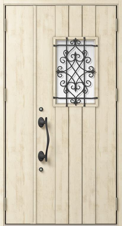 ジエスタ GIESTA D41型 K2仕様 親子ドア W:1,240mm×H:2,330mm 断熱 玄関 ドア リクシル LIXIL DIY リフォーム