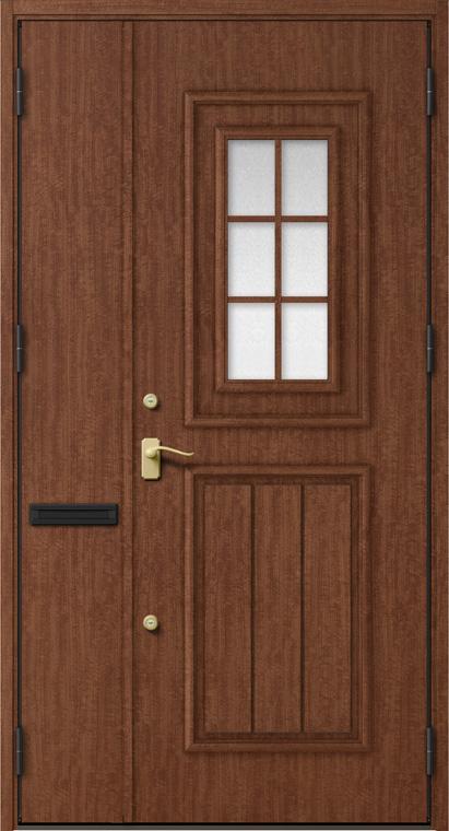 ジエスタ GIESTA C92型 K4仕様 親子ドア W:1,240mm×H:2,330mm 断熱 玄関 ドア リクシル LIXIL DIY リフォーム
