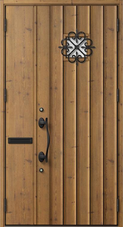 ジエスタ GIESTA D53型 K2仕様 親子ドア 内外同テイスト W:1,240mm×H:2,330mm 断熱 玄関 ドア リクシル LIXIL DIY リフォーム