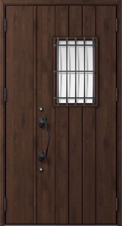 ジエスタ GIESTA D64型 K4仕様 親子ドア 内外同テイスト W:1,240mm×H:2,330mm 断熱 玄関 ドア リクシル LIXIL DIY リフォーム