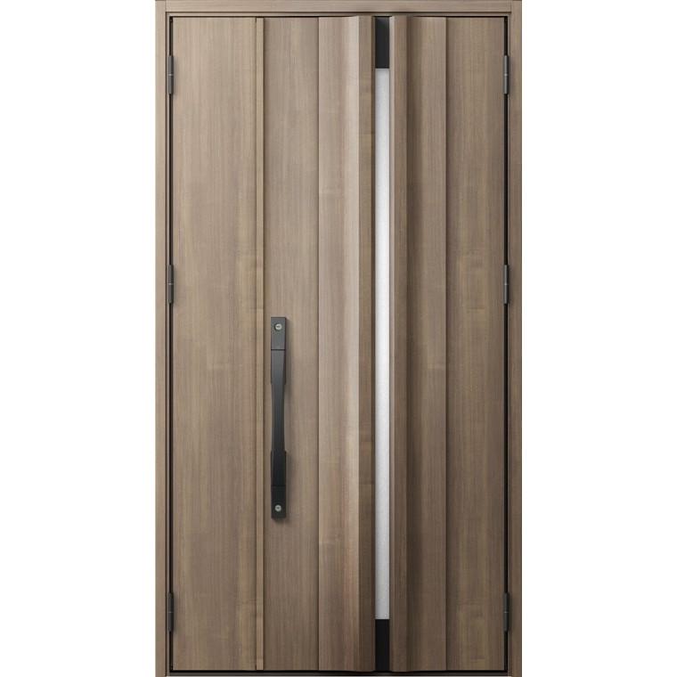 ジエスタ GIESTA G13型 K4仕様 親子ドア 採光なしタイプ 特注サイズ W:1,002~1,390mm × H:1,713~2,413mm 断熱 玄関 ドア リクシル LIXIL DIY リフォーム
