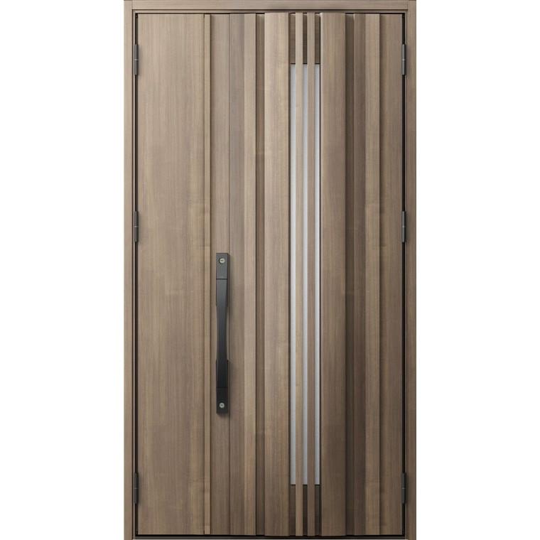 ジエスタ GIESTA G81型 K4仕様 親子ドア 採光なしタイプ 採風デザイン 特注サイズ W:1,138~1,341mm × H:1,813~2,330mm 断熱 玄関 ドア リクシル LIXIL DIY リフォーム