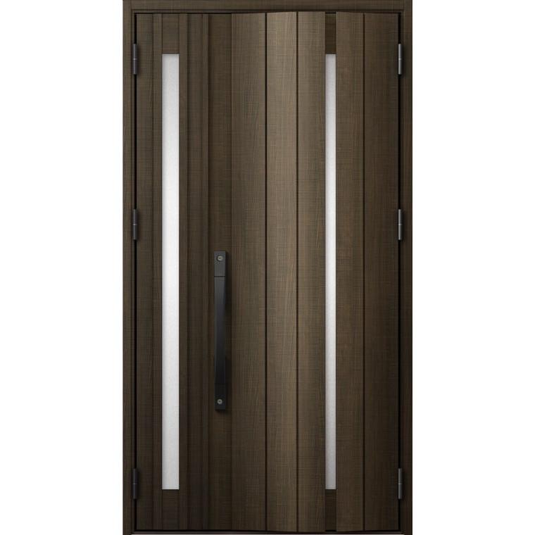 ジエスタ GIESTA G11型 K4仕様 親子ドア 採光ありタイプ 特注サイズ W:1,196~1,341mm × H:1,713~2,413mm 断熱 玄関 ドア リクシル LIXIL DIY リフォーム