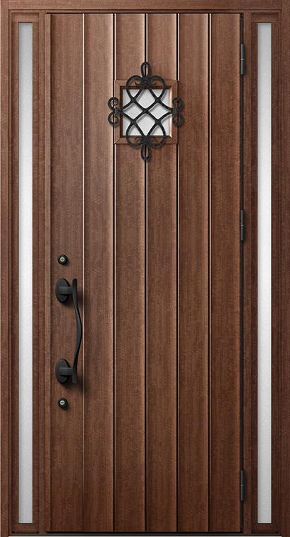 ジエスタ GIESTA D52型 K4仕様 両袖 内外同テイスト W:1,240mm×H:2,330mm 断熱 玄関 ドア リクシル LIXIL DIY リフォーム