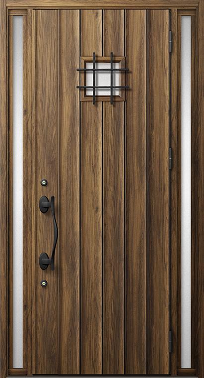 ジエスタ GIESTA D54型 K4仕様 両袖 内外同テイスト W:1,240mm×H:2,330mm 断熱 玄関 ドア リクシル LIXIL DIY リフォーム