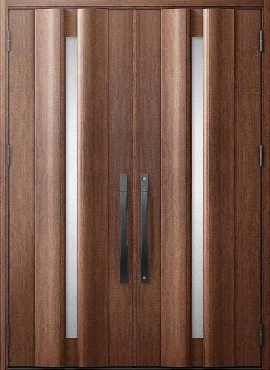 ジエスタ GIESTA G12型 K4仕様 両開き 特注サイズ W:1,608~1,869mm × H:2,330mm 断熱 玄関 ドア リクシル LIXIL DIY リフォーム