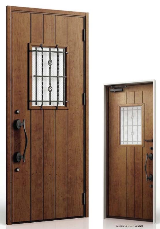 ジエスタ2 防火戸 GIESTA D63型 K2仕様 片開きドア 内外同テイスト W:924mm×H:2,330mm 断熱 玄関 ドア リクシル LIXIL