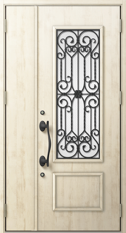 ジエスタ2 防火戸 GIESTA C13型 K4仕様 親子ドア W:1,240mm×H:2,330mm 断熱 玄関 ドア リクシル LIXIL